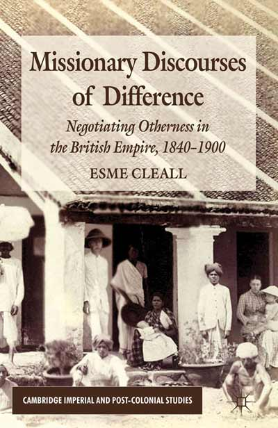 Missionary Discourses of Difference