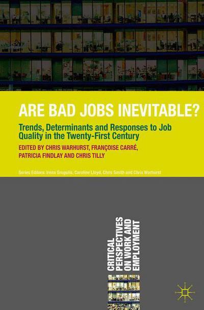 Are Bad Jobs Inevitable?