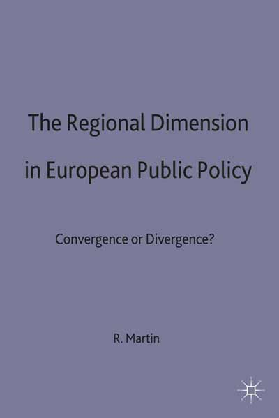The Regional Dimension in European Public Policy