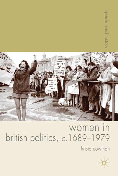 Women in British Politics, c.1689-1979