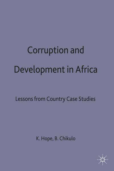Corruption and Development in Africa