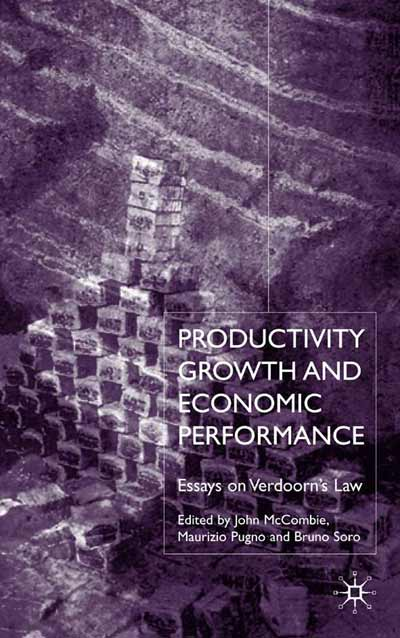 Productivity Growth and Economic Performance