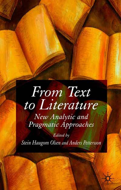 From Text to Literature