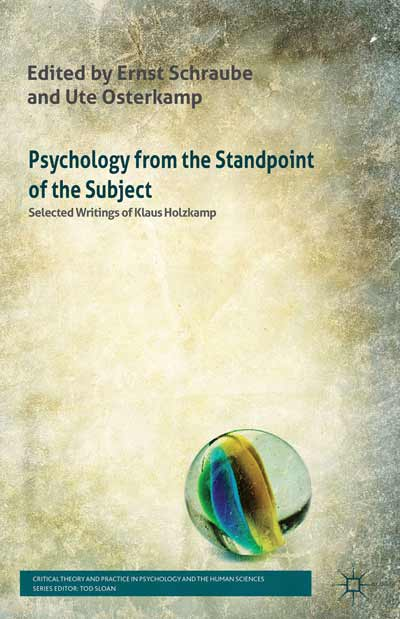 Psychology from the Standpoint of the Subject