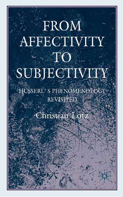 From Affectivity to Subjectivity