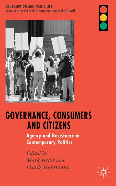 Governance, Consumers and Citizens