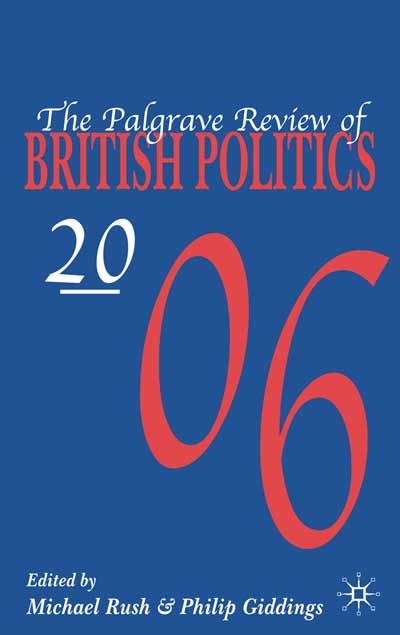 The Palgrave Review of British Politics 2006