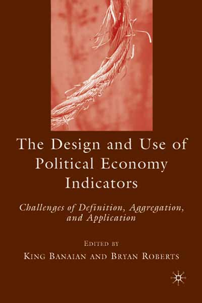 The Design and Use of Political Economy Indicators
