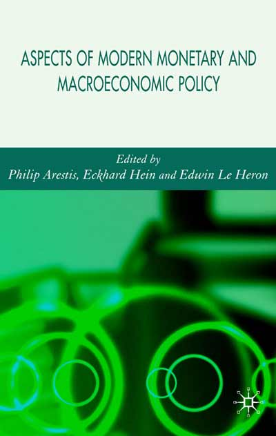 Aspects of Modern Monetary and Macroeconomic Policies