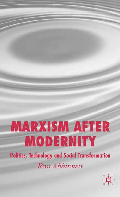 Marxism after Modernity