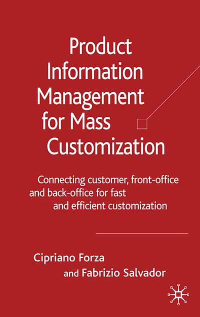 Product Information Management for Mass Customization
