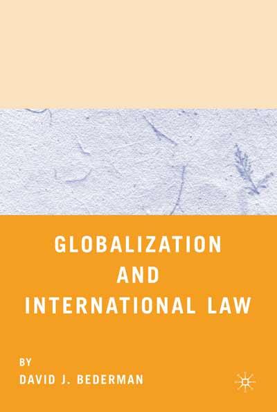 Globalization and International Law