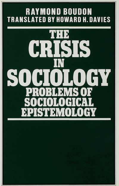 The Crisis in Sociology