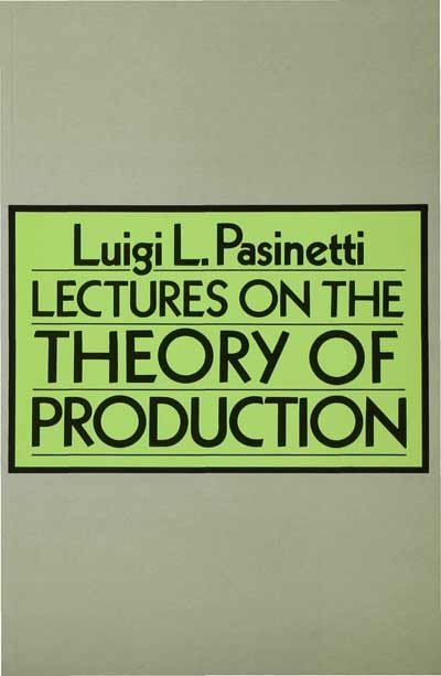 Lectures on Theory of Production