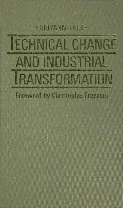 Technical Change and Industrial Transformation