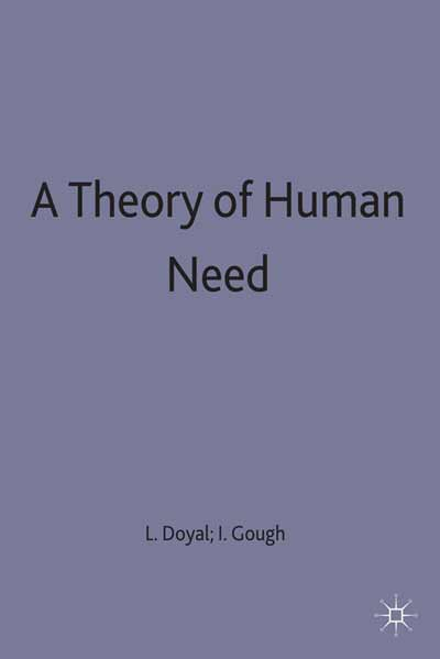 A Theory of Human Need