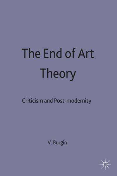 The End of Art Theory