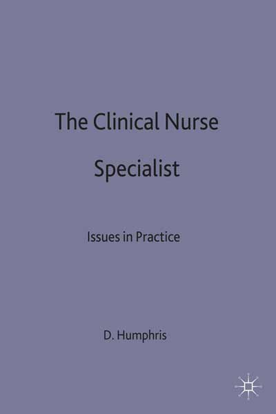 The Clinical Nurse Specialist