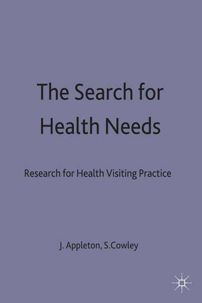 The Search for Health Needs