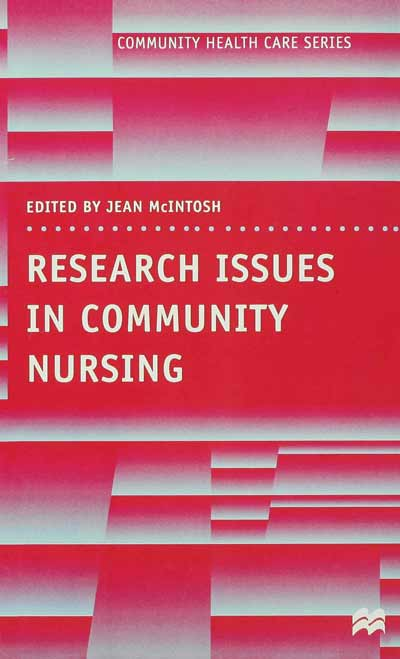 Research Issues in Community Nursing