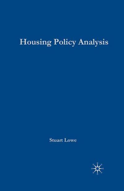 Housing Policy Analysis