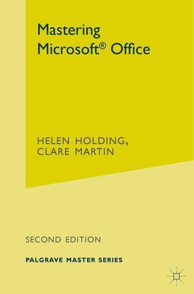 Mastering Microsoft Office