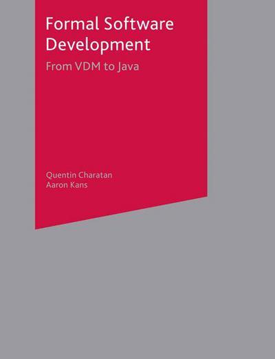 Formal Software Development