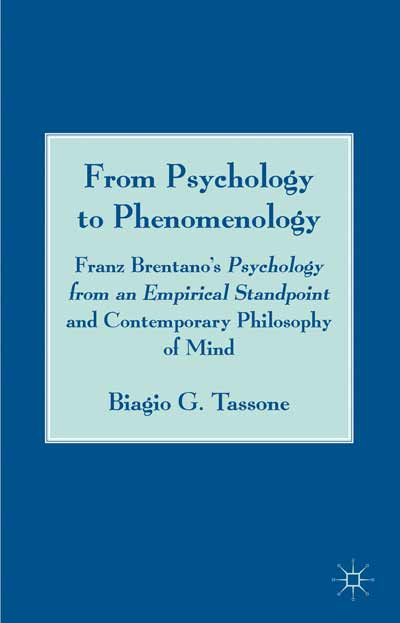 From Psychology to Phenomenology