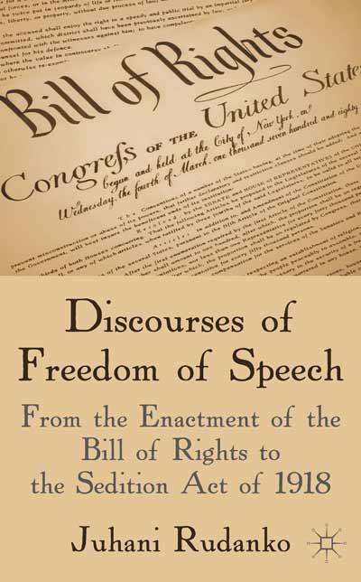 Discourses of Freedom of Speech