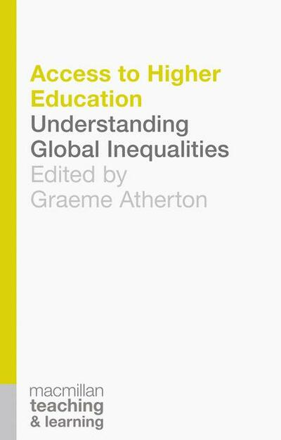 Book cover for Access to Higher Education