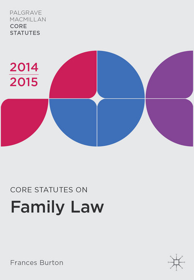 Core Statutes on Family Law 2014-15