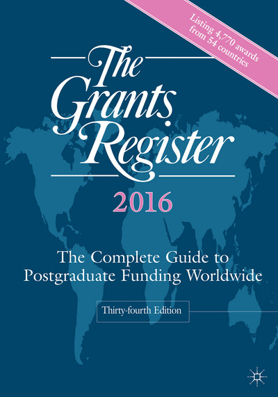 The Grants Register 2016