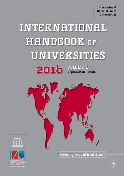 International Handbook of Universities 2016
