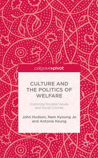 Culture and the Politics of Welfare