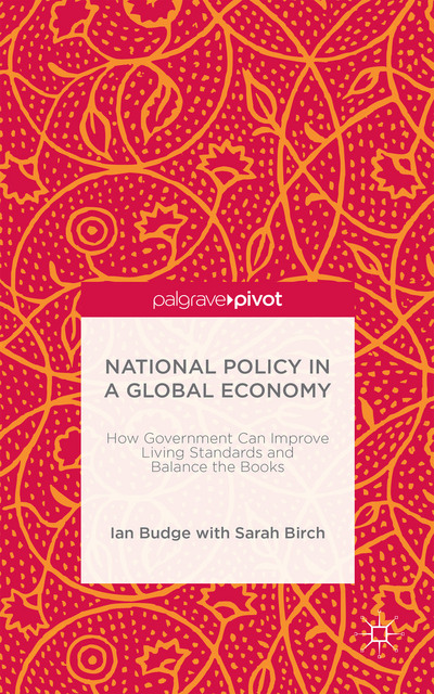 National Policy in a Global Economy