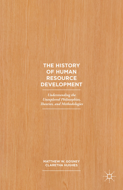 The History of Human Resource Development