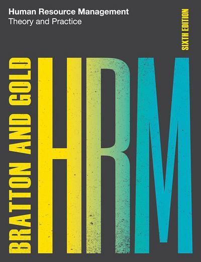 Human Resource Management, 6th edition