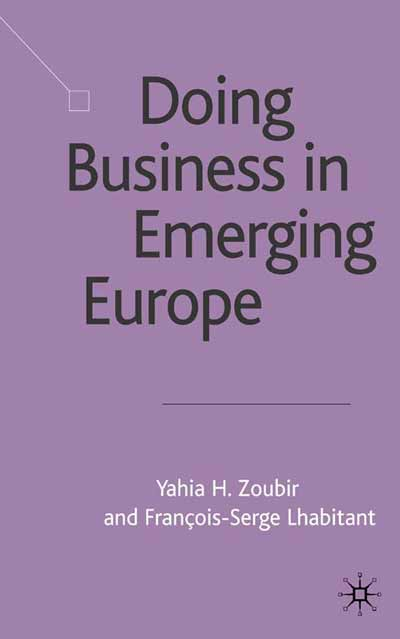Doing Business in Emerging Europe