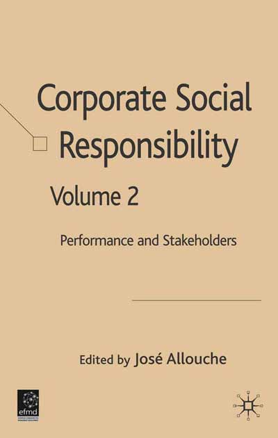 Corporate Social Responsibility Volume 2