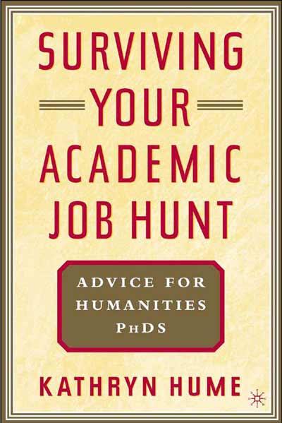 Surviving Your Academic Job Hunt