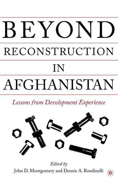 Beyond Reconstruction in Afghanistan