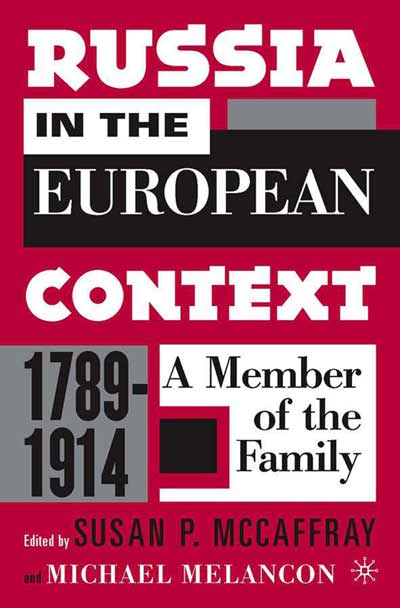 Russia in the European Context, 1789-1914