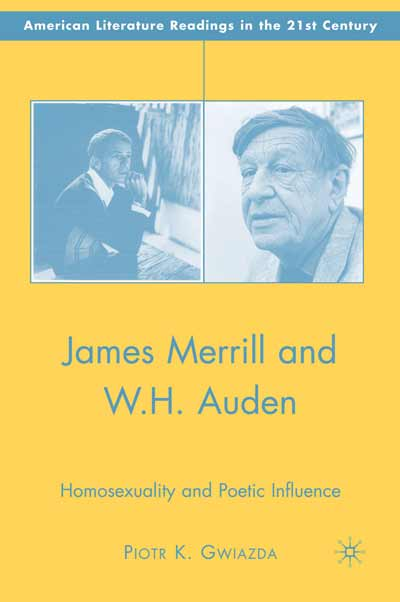 James Merrill and W.H. Auden