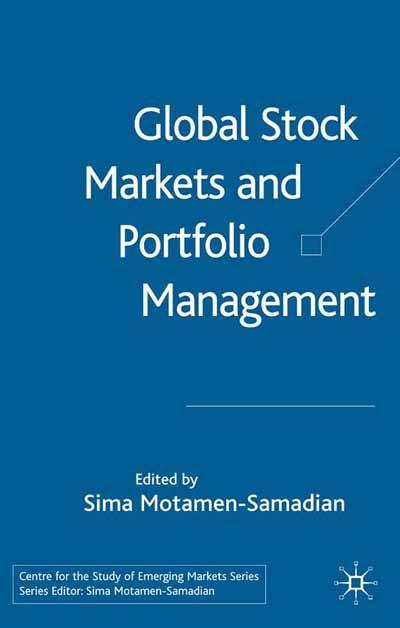 Global Stock Markets and Portfolio Management
