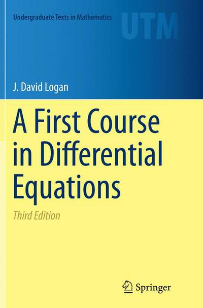 A First Course in Differential Equations