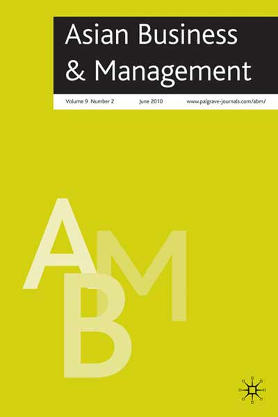 Asian Business & Management