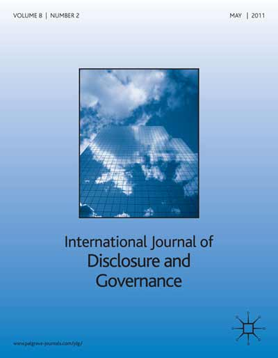 International Journal of Disclosure and Governance