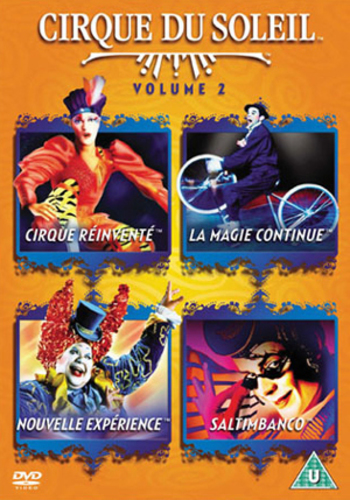 Cirque Du Soleil Dvd: Cirque Du Soleil: Volume 2 DVD (2004) Jacques Payette