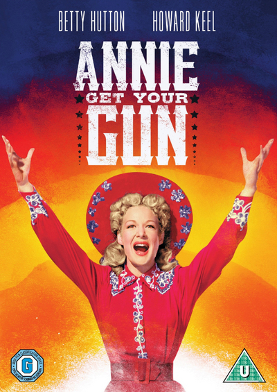 Annie Get Your Gun DVD Betty Hutton, Howard Keel, Louis ...