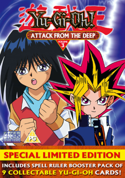 Yu Gi Oh - Vol. 3 - Attack From The Deep  DVD